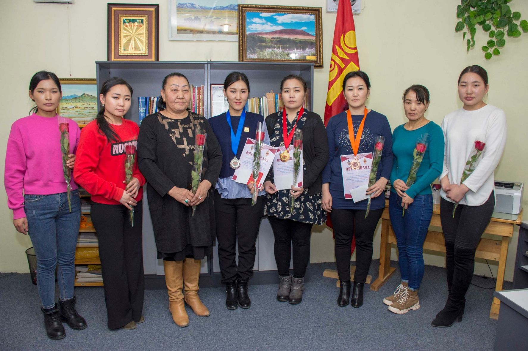 Mongolian women HST competition 2019
